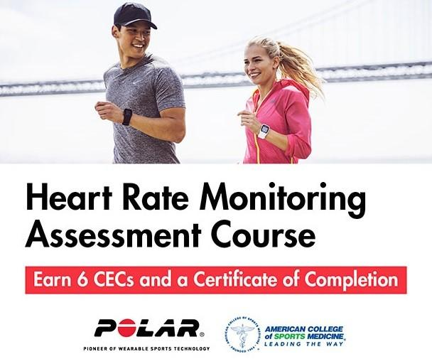 POLAR and ACSM Presents: Heart Rate Monitoring Assessment Course